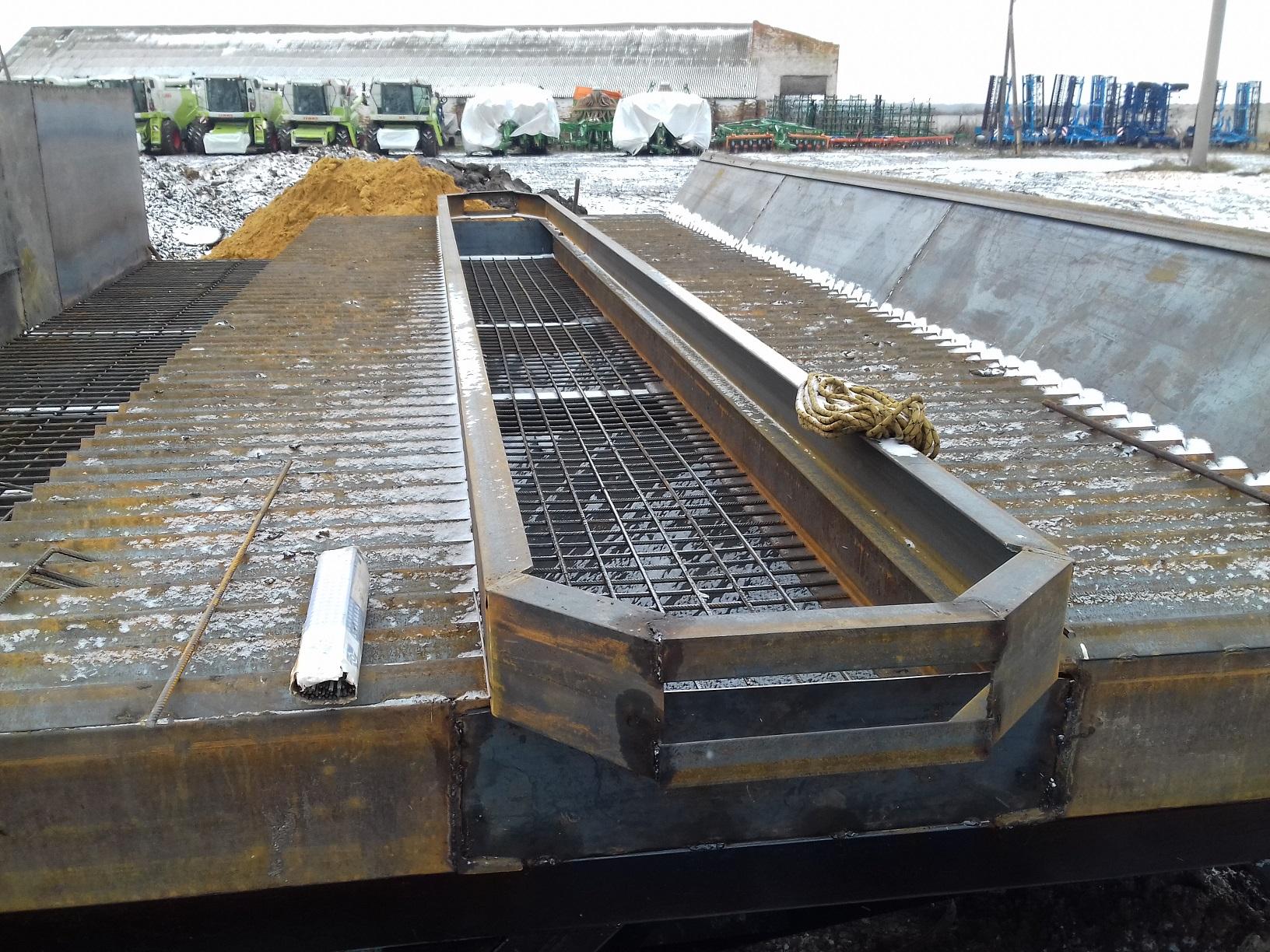 Завальные ямы элеваторов инструкция на транспортер т4